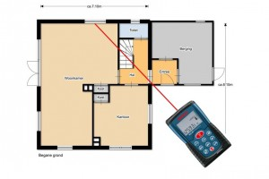 Combi Floorplanner en NEN 2580