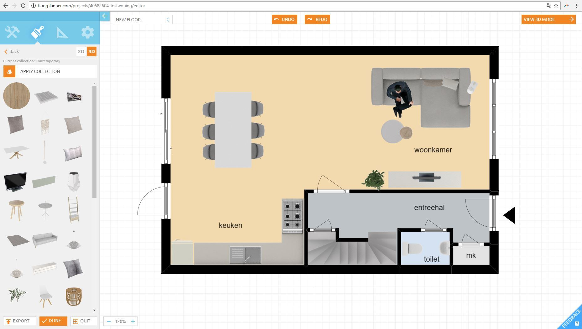Nieuwe floorplanner editor for Www floorplanner