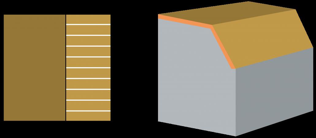 inhoud-berekenen-afgeknot-lessenaarsdak