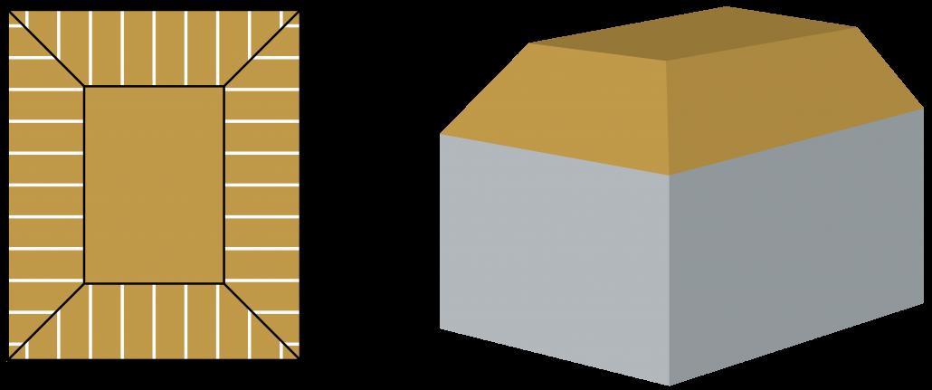inhoud-berekenen-afgeknot-schilddak