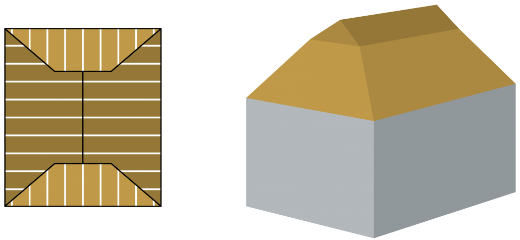 Inhoud berekenen dakkap met uilebord