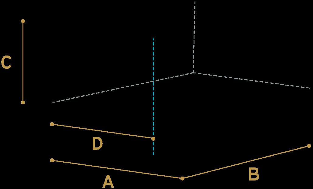 m3-berekenen-afgeknot-lessenaarsdak