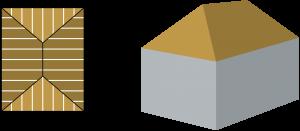 inhoud-berekenen-schilddak