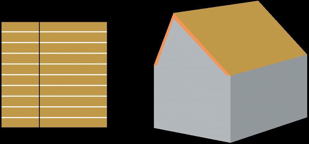 inhoud-berekenen-zadeldak-assymmetrisch