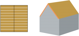 inhoud-berekenen-zadeldak-asymmetrisch